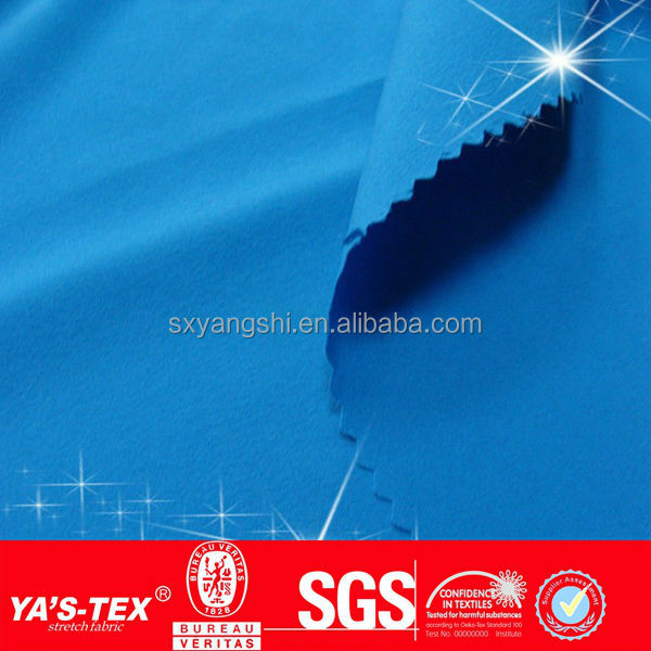 new fashion china shaoxing textile style Polyester Two Way Spandex Fabrics like quicksilver