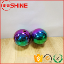 Different Color Drilled Stainless Steel Hollow Ball Wholesaler
