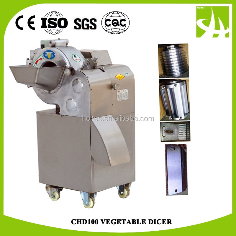 Trade Assurance! Automatic Commercial CHD100 vegetable dicer, vegetable cube cutting machine