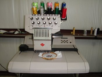 Melco EMC10 single head w/ EXTRAS Embroidery machine