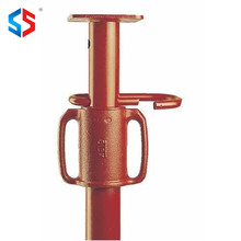Tianjin Shisheng Good Quality Red Painted Construction Adjustable Scaffolding Steel Prop