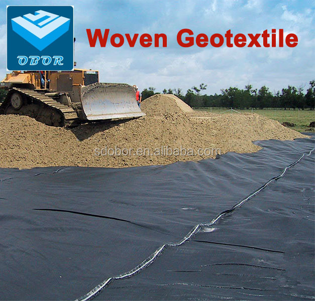 100g PP woven geotextile