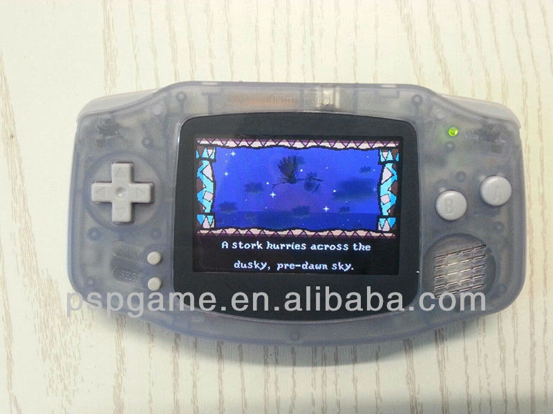 for Game Boy Advance backlit screen game console