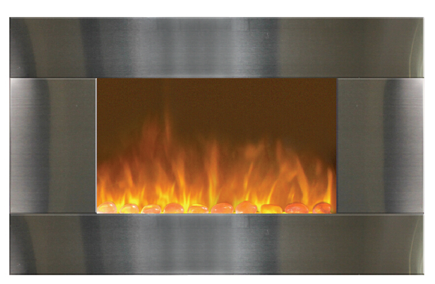 2015 new model stainless steel electric fireplace buy