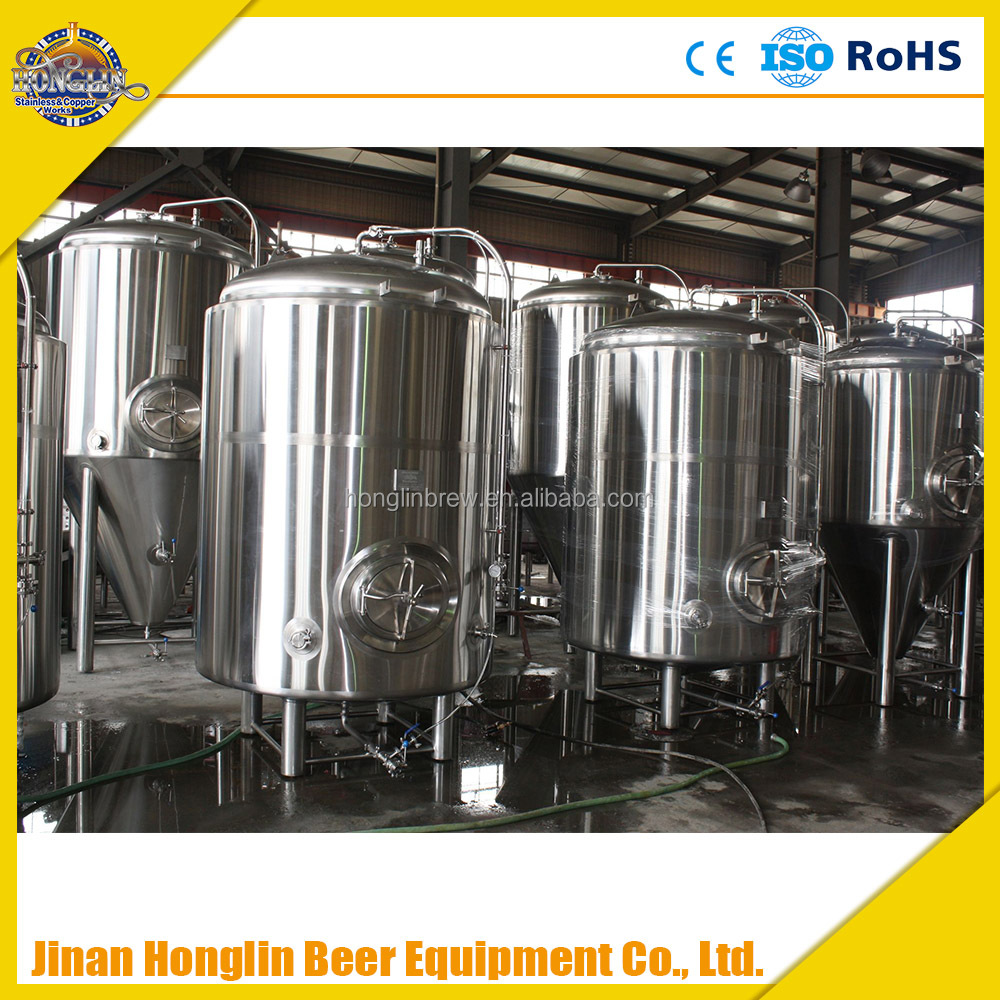 Hotel Beer Equipment,800L copper beer brewing equipment