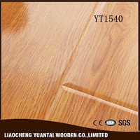 China manufacturer Laminate flooring u-groove easy install