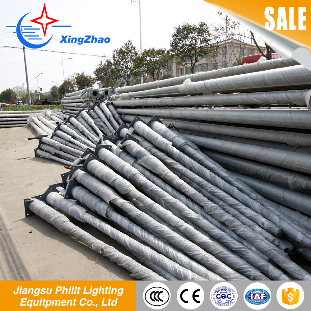 Newest type extension pole parts for street solar light