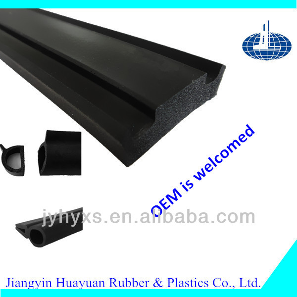 Jiangyin Huayuan provides all kinds of EPDM rubber products for rubber seal strip gasket for windows