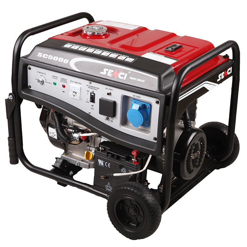 permanent magnet powerful gasoline engine 5kw generator