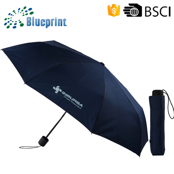 21 inch compact advertising steel fold designed umbrella