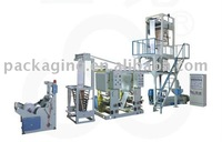 plastic film blowing gravure printing machine