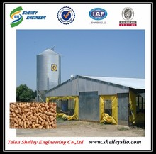 bulk feed used grain bins for sale