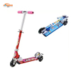 China supplier aluminum 3 wheel kids mini scooter