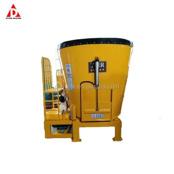 TMR Fodder Mixer Truck Machine