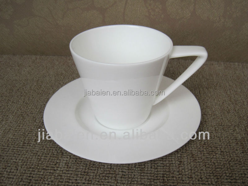 Top grade espresso reusable coffee cup and saucer