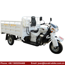 FULL LUCK China Quality 200CC Cargo Motorcycle Adult Tri Scooter 3 Wheels Cargo Tricycle