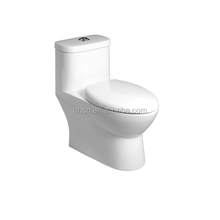 HS1066 new design sanitary ware washdown one piece best flushing toilet