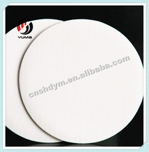High quality round white cake pad board