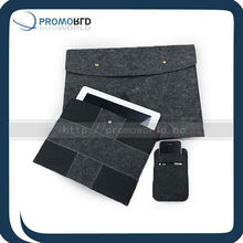 Felt pc computer case set Friber promotional sleeves felt sleeve