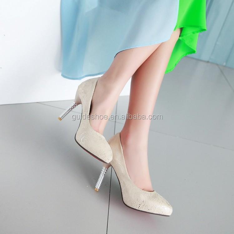 2016 fashion high heel high heel shoe in blue buy