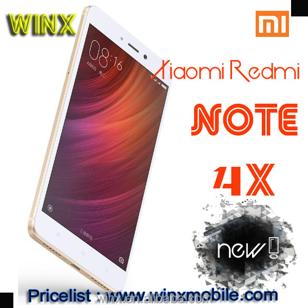 "hot!Original Redmi Note 4X 3 RAM 32 GB ROM latest 5g mobile phone 5.5"" Snapdragon 625 Octa Core new products 2017 winx"