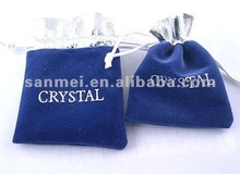 Gift Packing velvet Jewellery Pouch Bags