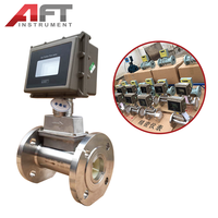 High temperature natural gas turbine flow meter