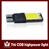Guangdian high quality cob car led lamp T10 6w with canbus universal car inner light