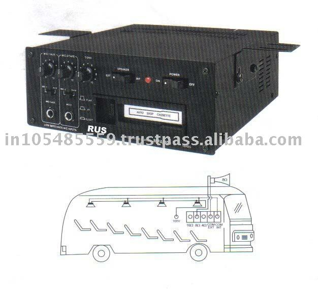 Audio Power Amplifier for bus