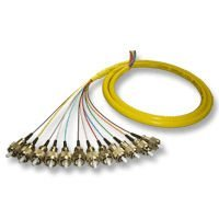 Pigtail FC/PC Fiber Jumper 12 core Optical patch cord
