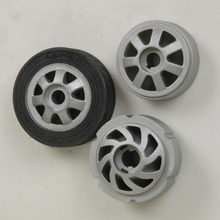 High quality wear-proof silicone rubber car/toy wheels