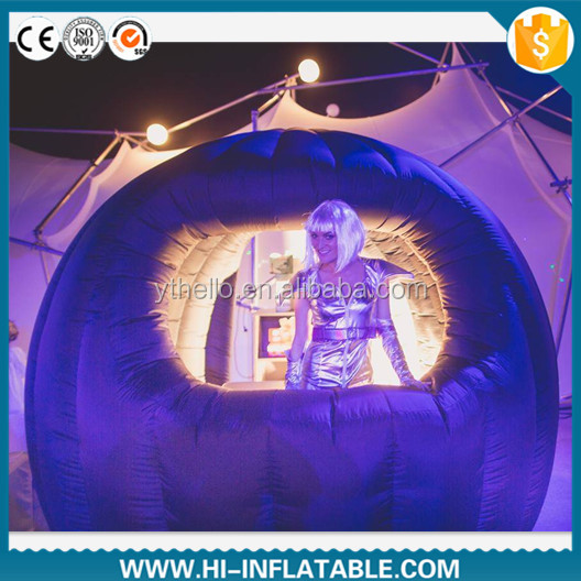 Best-sale party / nightclub use mini inflatable dj booth for sale