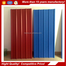 RAL color coated steel sheet/corrugated steel roofing sheet of buildings materials