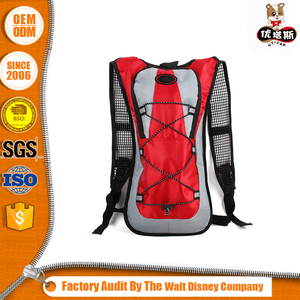 Sports bicycle hydration pack backpack with bladder