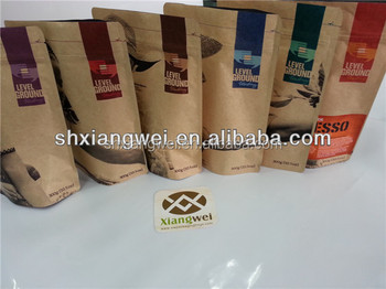 printed bags for 800g for coffee in the new year