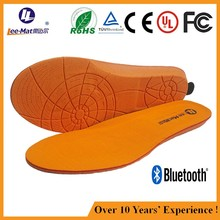 APP wireless controlled insole thermal warm foot pads for shoes