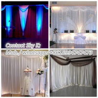 decorative hot air balloons, backdrop design sample for wedding and party