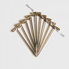 High Quality Nickel Plated Steel Fixing T Shape Head Pin In 38mm