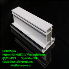 Wood Film Laminated PVC Profile Door And Window