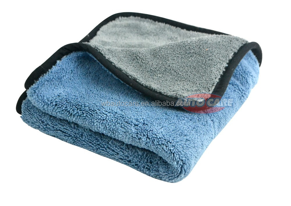 800gsm 45cmx38cm Super Thick Plush Microfiber Car Cleaning Cloths Car Care Microfibre Wax Polishing Detailing Towels