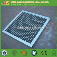 High quality Plain type bar Steel Grating for stair tread