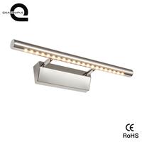 Stainless steel 3w 25cm Cool White led mirror light for bathroom