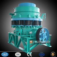 TECHSHEEN CPYS-1600 Spring Protectiong Iron Pass Granite Limestone Symons Cone Crusher