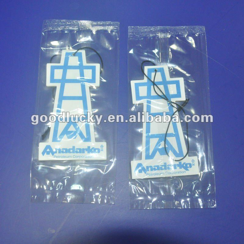 OEM design paper car air freshener for car decoration