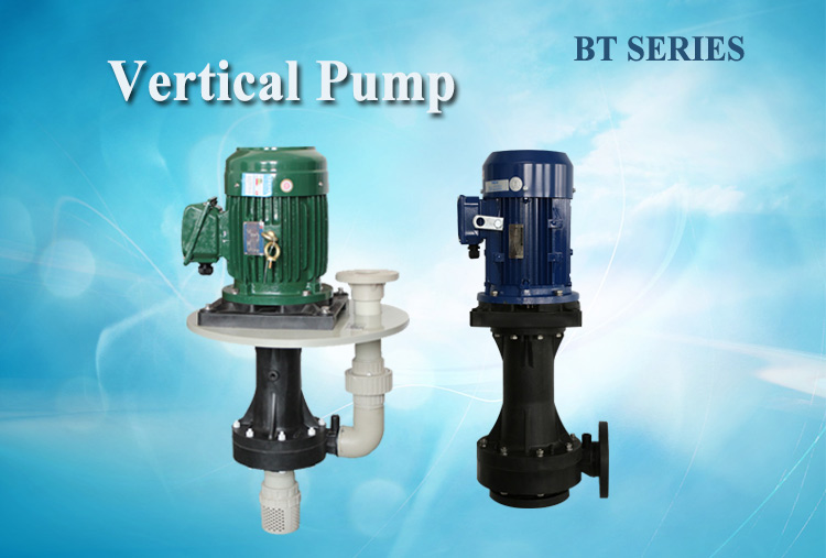 Efficient, Reliable and Sustainable vertical chemical centrifugal pump used on acid/alkaline liquid