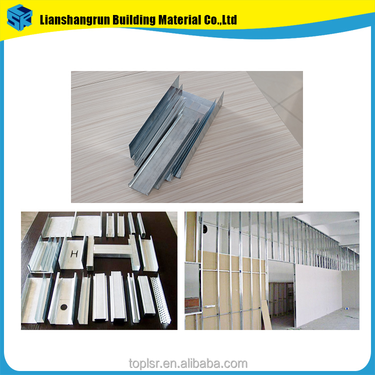 Ceiling Roofing Partitions Materials lightweight steel frame