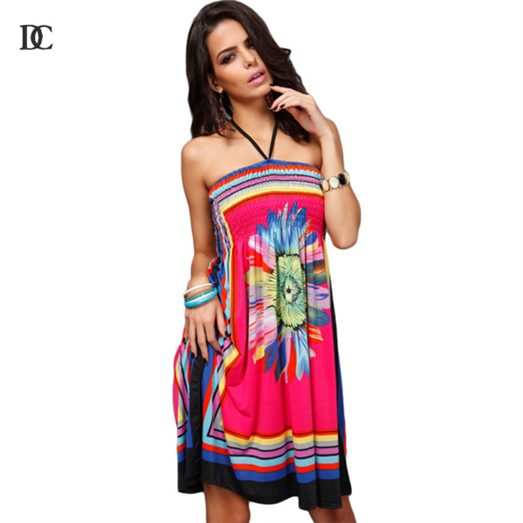 Women casual dresses street fashion new sexy club slash neck tube top off shoulder cloak sleeve casual dresses