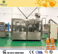 Juice and tea filling and sealing line