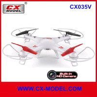 2015 CX035 RC quadcopter with camera 2.4ghz 4ch 3d 6-axis remote contro helicopter camera and video transmitter