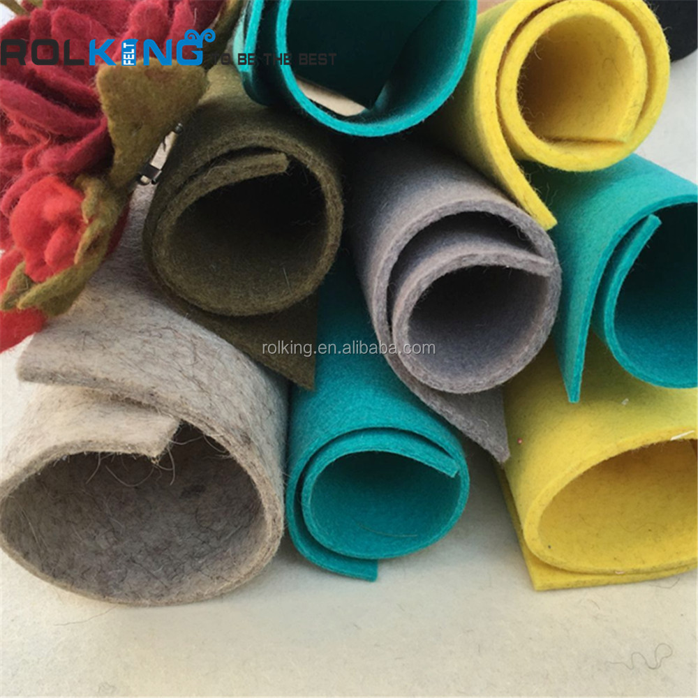 3mm Color 100% Wool Felt natural felt